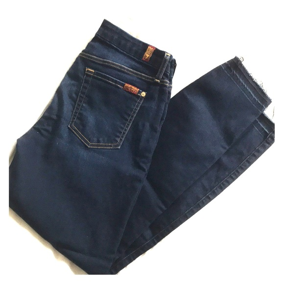 7 For All Mankind Denim - 7 for All Mankind Blair Ankle Skinny Jean